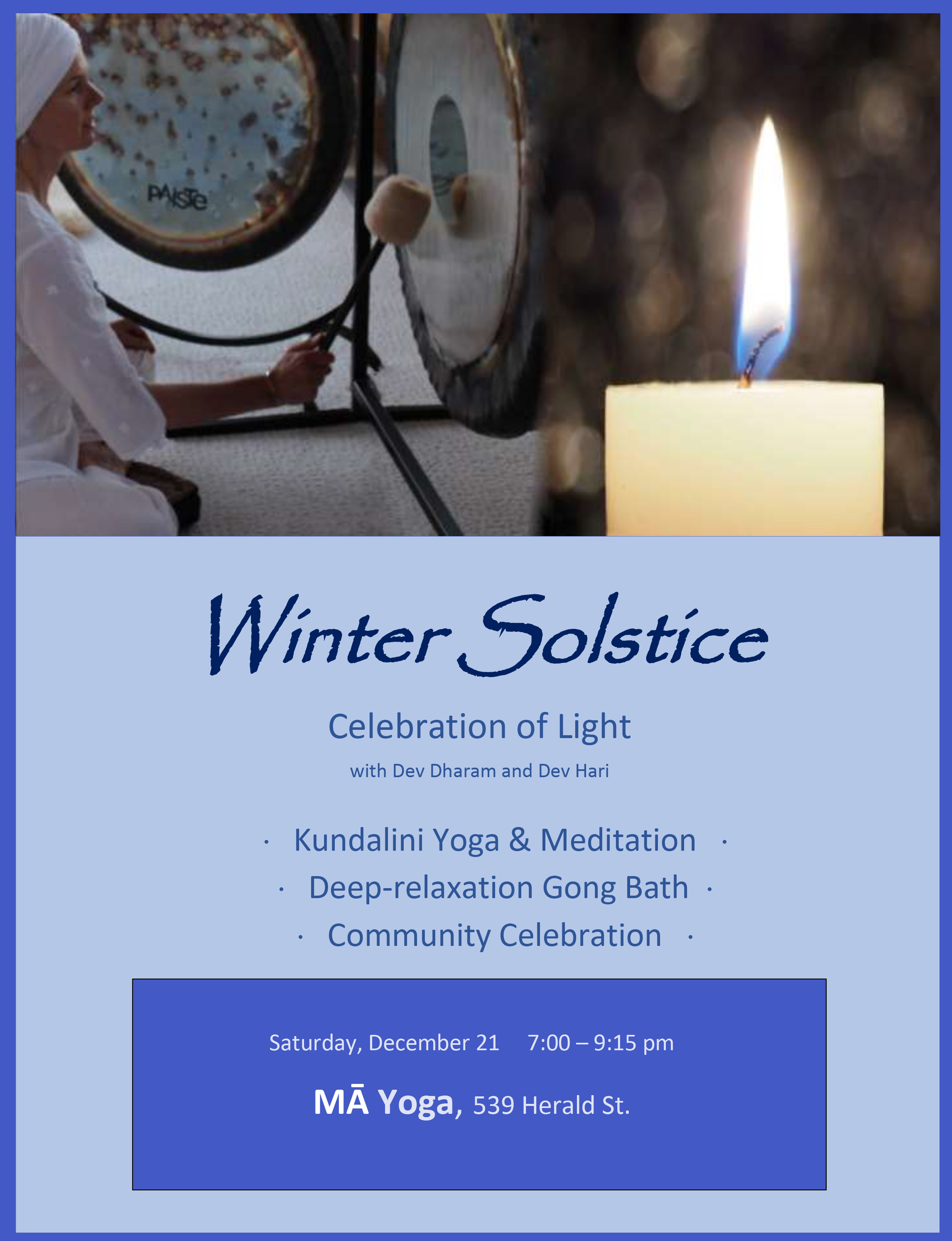2019 Winter Solstice at MA
