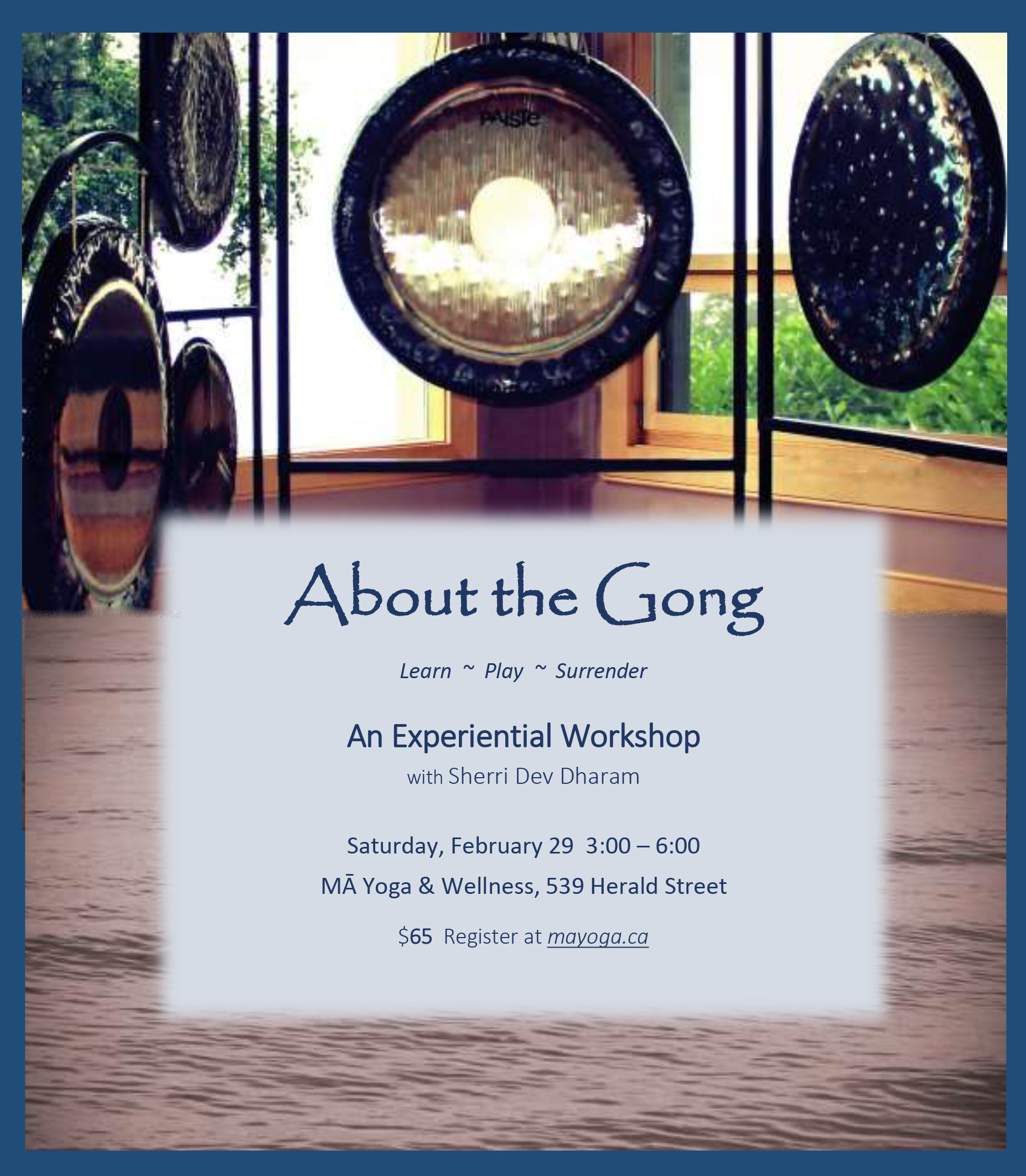 About the Gong Workshop